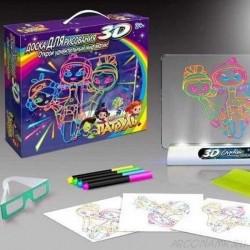 3D Magic Piešimo Lenta Girls