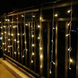LED Lempučių Užuolaida 1 x 4,5 m - 240 LED