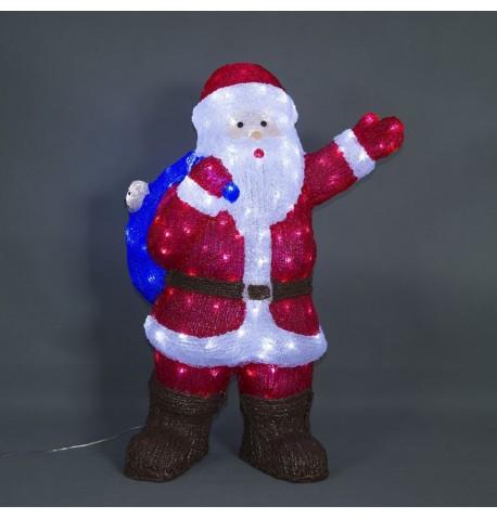 Kalėdinė dekoracija LED SANTA