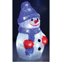Kalėdinė dekoracija LED SNIEGO SENIS - Lauko dekoracija