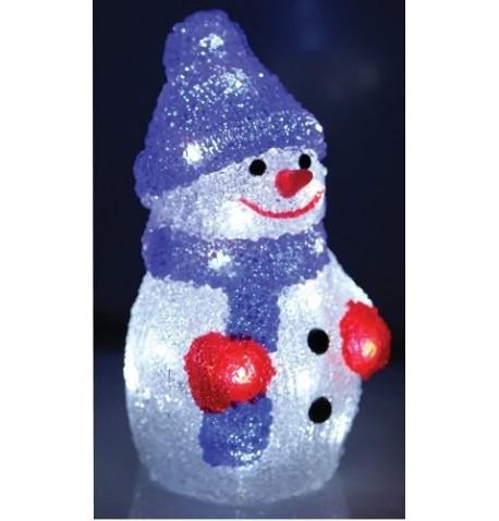 Kalėdinė dekoracija LED SNIEGO SENIS | Lauko dekoracija