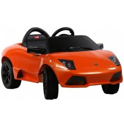 Elektromobilis Lamborghini Murcielago 640-4 + pultas Oranžinis