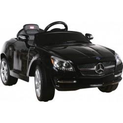 Akumuliatorinis automobilis Mercedes SLK + pultas, juoda