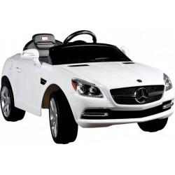 Akumuliatorinis automobilis Mercedes SLK + pultas, balta