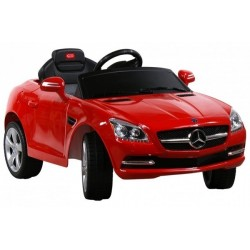 Akumuliatorinis automobilis Mercedes SLK + pultas, raudona