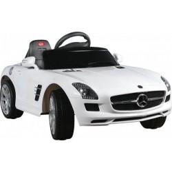 Akumuliatorinis automobilis Mercedes SLS AMG balta
