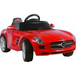 Akumuliatorinis automobilis Mercedes SLS AMG raudona
