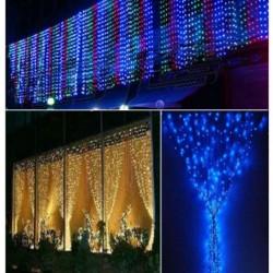 LED lempučių užuolaidą 1m X 6m