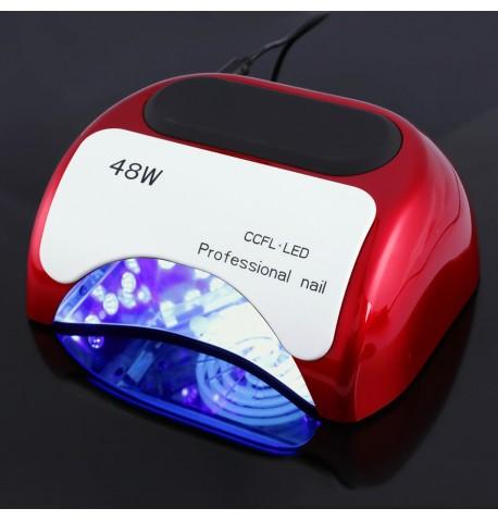 Hibridinė 18K 48W UV CCFL+LED lempa nagams