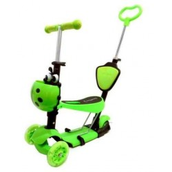 SCOOTER 5in1 Paspirtuktas - stumdukas