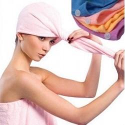 Plaukų džiovinimo rankšluostis