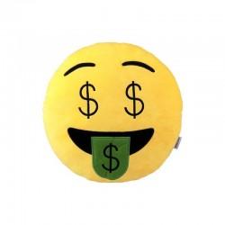 Emoji Pliušinė pagalvė Money
