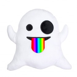 Emoji Pliušinė pagalvė Ghost