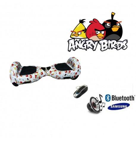 Modernus elektrinis riedis su Bluetooth - Angry Birds