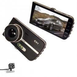 Vaizdo registratorius su dviem kamerom FULL HD DVR
