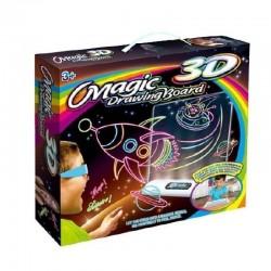 3D Magic Piešimo Lenta Dyno