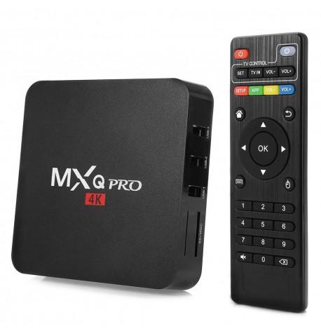 TV priedėlis - Mxq Pro 4k Android 7.1 TV Box