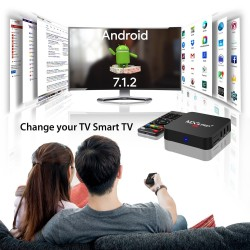 TV priedėlis - Mxq Pro 4k Android 7.1 TV Box