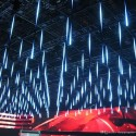 Krentantis meteoru lietus LED SMD 30cm