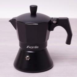 Juodas espresso kavinukas...