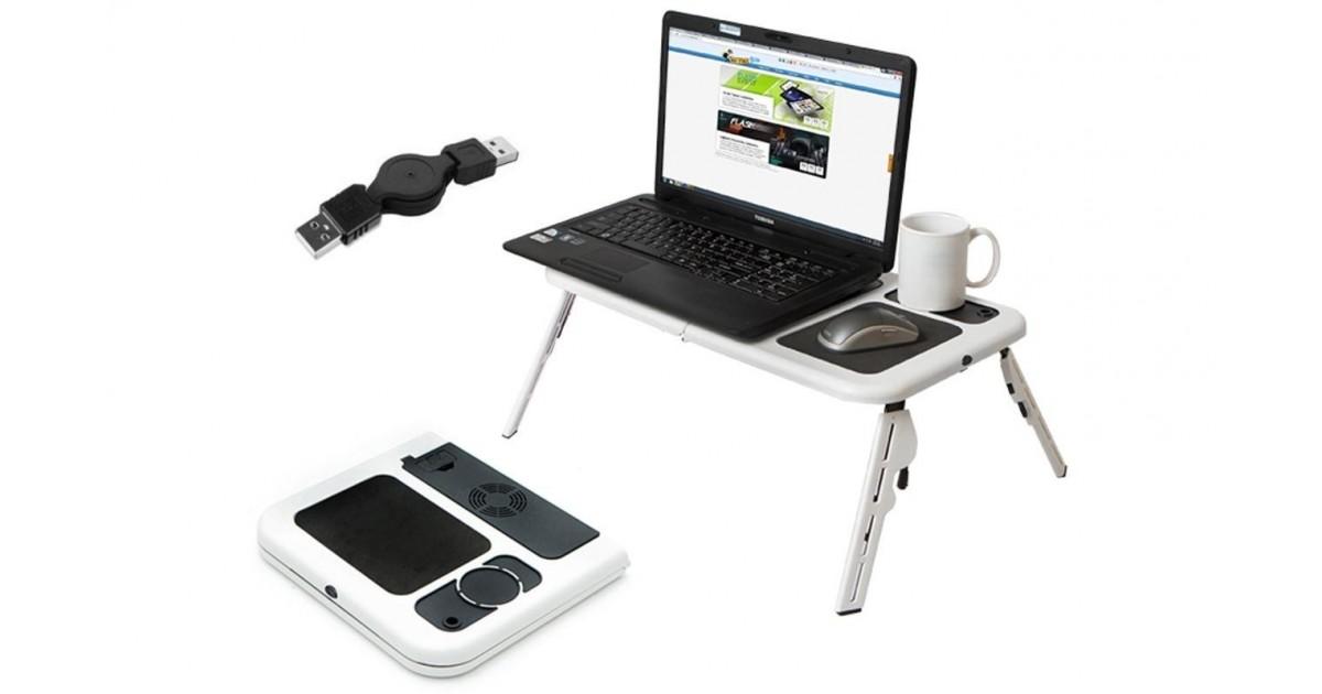 Nešiojamo kompiuterio stalas E-table