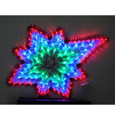 LED Zvaigždė (neteisiklingos formos) 120 šviesos diodu