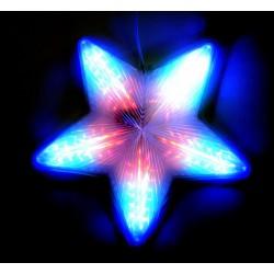 Led Žvaigždė keičianti spalvas
