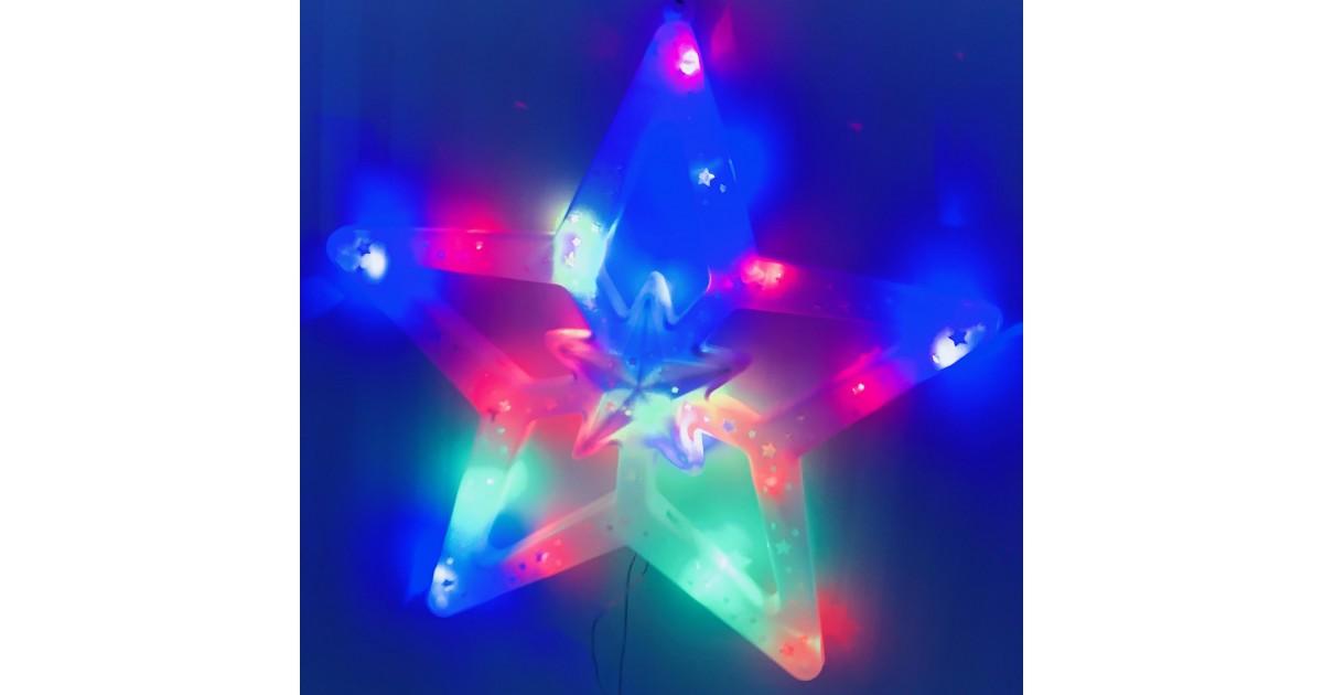 LED Kalėdinė Žvaigždė - Šviesos dekoracija