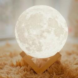 Mėnulio formos pastatoma LED lempa -L-