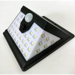 Saulės baterijos LED šviestuvas su judesio davikliu 40 SMD