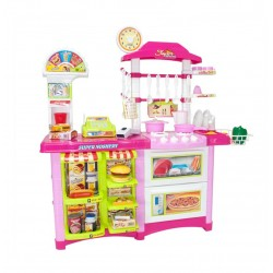 Didelės komplektacijos žaidimų virtuvė