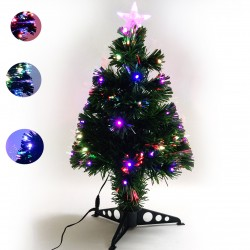 LED dirbtinė eglutė su stovu 60 cm RGB MIX lemputėmis