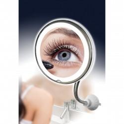 Kosmetinis Veidrodis Su LED Apšvietimu 10x Ultra Flexible Mirror
