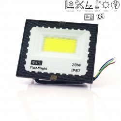 20w LED prožektorius 6500k mINI IP67