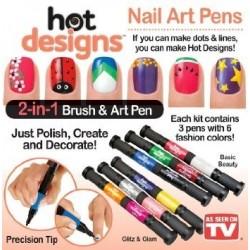 Hot Designs | Nagų dekoravimo komplektas