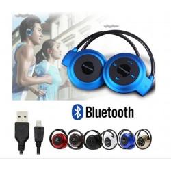 Mini-503 Sportinės belaidės ausinės Bluetooth/MP3/TF/MicroSD/FM