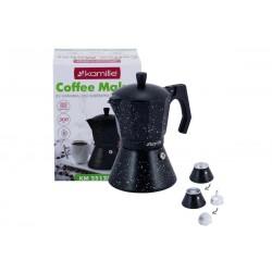 Kavos virimo aparatas 300 ml su plačiu indukciniu dugnu KAMILLE 2512MR