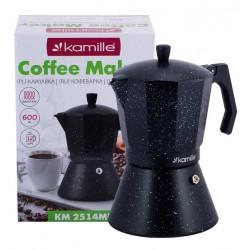 Kavos virimo aparatas 600 ml su plačiu indukciniu dugnu KAMILLE 2514MR