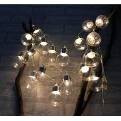 Kalėdų girlianda - dekoracija LED LEMPUTĖS BULB'S