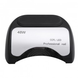 Hibridinė UV-LED 48W gelinio lakavimo lempa (CCFL+LED)