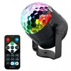 RGB LED disco projektorius,...