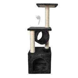 Draskyklė katėms, 90 cm, juoda