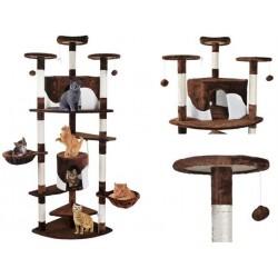 Draskyklė katėms, 200 cm, ruda