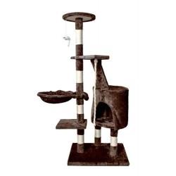Draskyklė katėms, 118 cm, ruda