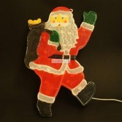 Kalėdų senelis  - Kalėdinė šviesos dekoracija