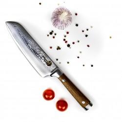 Profesionalus Damasko plieno šefo peilis 16cm, KATANAIMI
