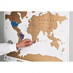Nutrinamas pasaulio žemėlapis