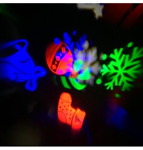 Kalėdinis lauko lazeris